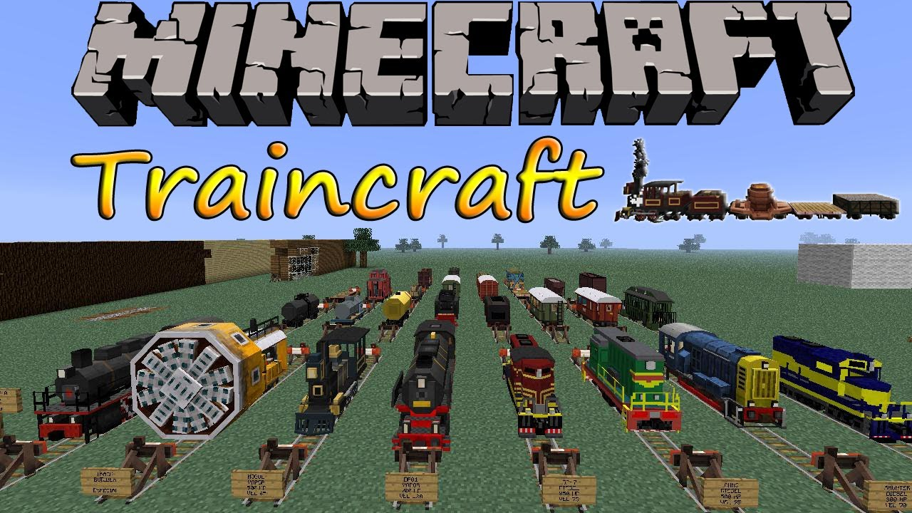 Логотип для traincraft