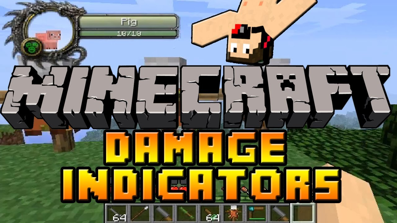 логотип для мода Damage Indicator