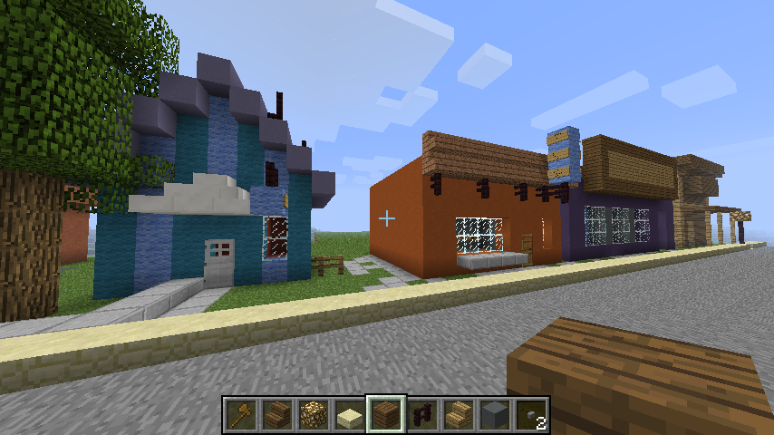 how to build a shack in minecraft
